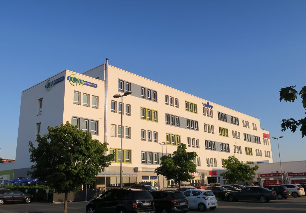 Hauptsitz der robot5 GmbH, Walter-Oehmichen-Strasse 18 68519 Viernheim